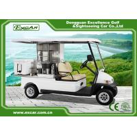 Wholesale EXCAR 2 Seater Electric Golf Buggy Car Food Utility Cart 1 Year Warranty from china suppliers