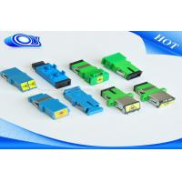 Wholesale Low Insertion Loss Fiber Optic Adapter Simplex / Duplex With Flange from china suppliers