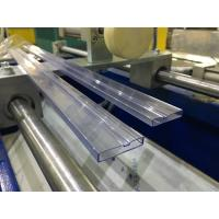 Buy cheap PVC IC Packing Tube / Plastic Profile Extrusion Machine , IC Tubing Extrusion from wholesalers
