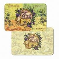 Wholesale Cutting Board Plastic Placemats, Customized Designs are Accepted, Made of PP, Suitable for Kitchen from china suppliers