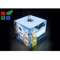 Wholesale 40 Watt LED Cube Light Box 3030 SMD LED Module Light With Ceiling Hanging Kits from china suppliers