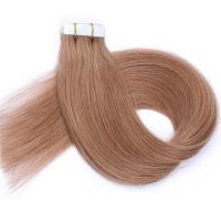 Wholesale 100 Human Hair Tape In Extensions , Tape Weft Hair Extensions No Shedding from china suppliers