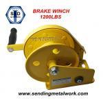 Hand Winch 1200lbs Trailer Winch Boat Winch Brake Winch
