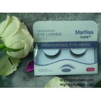 Buy cheap Export false eyelashes OEM and big quantity orders from wholesalers