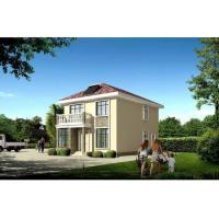 House Prefabricated , Two floors Prefab Steel House With Long Lifetime Manufactures