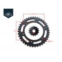 Wholesale Honda 525 Chain And Sprocket Kit, 40T / 15T Motorbike Chain And Sprocket Kits from china suppliers