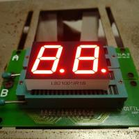 Wholesale Dual Digit 0.39 Inch  Low Power 7 Segment Display Super Red For Home Applications from china suppliers