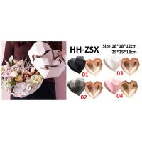 Wholesale Wholesale ABS diamonds Heart flower packing box gift box 2 pcs set various colors from china suppliers