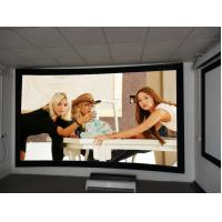 Wholesale 8cm Frame Curved Projection Screens With Black Velvet / 3D Screen Projector from china suppliers
