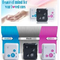 Wholesale Spy mini realtime gsm gprs tracker sos button elderly cell phone reachfar rf-v18 from china suppliers
