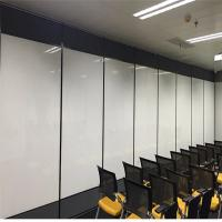 Wholesale Aluminum Frame Banquet Hall Gypsum Board Wood Removable Sliding Partition Walls from china suppliers