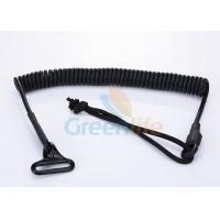Wholesale OEM Expanding PU Coated Tactical Pistol Lanyard String Loop Spring Sling from china suppliers