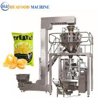 3kw Popcorn Packing Machine / Industrial Food Packaging Equipment 1800*1250*1780mm