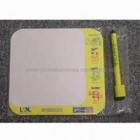 Wholesale Magnet writing board, made of art paper and soft magnet, non-toxic from china suppliers