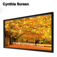 Wholesale Cynthia Screen Front And Rear Projection Fixed Frame Projection Screen from china suppliers