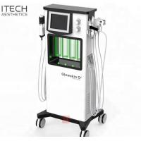 Wholesale 6 In 1 RF Ultrasound Super Oxygen Facial Machine For Mild Exfoliation Skin Tightening from china suppliers