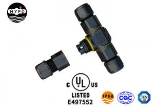 Wholesale UL Certified PG Series 3 Pin IP68 Waterproof Screw Connector T Type from china suppliers