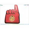 Red Custom Big Finger Number 1 Fan Foam Finger Heat Transfer Print Manufactures