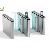Wholesale Recognition Supermarket Swing Gate,Access Control Manager Glass Arm Turnstyle from china suppliers