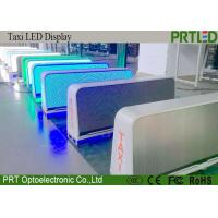 China Full Color P5 Taxi Top LED Display , Car Roof Taxi Top LED Sign Board on sale