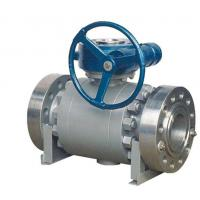 Buy cheap Side Entry Forged Steel Trunnion Mounted Ball Valve A105 PTFE SS F304 WCB from wholesalers