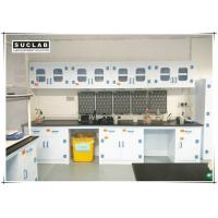 China Corrosion Resistant Chemical Lab Furniture With PP Countertops And Shelves In Laboratory on sale