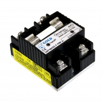 Buy cheap Fast Switching 12V 40A DC SSR Relay Circuit plug in type from wholesalers