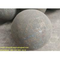 China B2 B3 B6 60Mn Forged steel grinding media balls for mining ball mill on sale