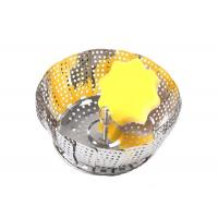 Wholesale Collapsible Stainless Steel Steamer Basket For Pressure Cooker Vegetable Food Cooking from china suppliers