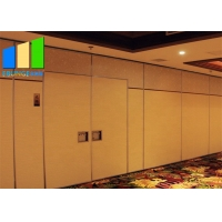 Wholesale Customized Leather Folding Wooden Demountable Acoustic Partition Wall For Office from china suppliers