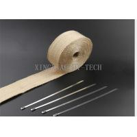 550 ℃ Fiberglass Heat Resistant Insulation Tape Different Thickness Multi Colored