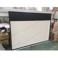 Buy cheap Cynthia Automatic Fixed Electric Projection Screens from wholesalers