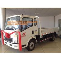 China HOWO7 SInotruk 3-8T LHD 4X2 Drive Type Cargo Box Truck Euro 2 / Light Duty Cargo Truck on sale