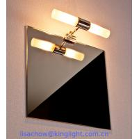 Wholesale chrome bathroom light fixtures from china suppliers