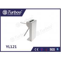 Wholesale 304 Stainless Steel Electronic Turnstile Gates 35 Persons / Min Transit Speed from china suppliers