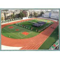 Quality Excellent Anti - Wear Performance Football Synthetic Grass Mixing Double Green for sale