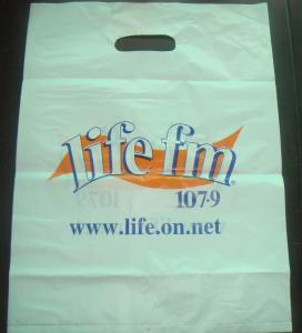 China Oxo-Biodegradable Plastic Bag , Polythene HDPE Additive Bags on sale