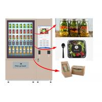 Wholesale Winnsen Salad Jar Vending Machine , Cupcake Vneding Machines With Belt System from china suppliers
