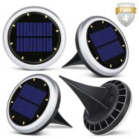 Buy cheap 8LED Solar Power Lights for Outdoor Path Road,Garden Solar Lights For Yard,Solar from wholesalers