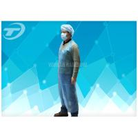 Wholesale Blue Color Disposable Polythene Aprons 69 X 107 Cm Waterproof from china suppliers