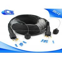 China Waterproof Outdoor Fiber Optic Patch Cord ODLC / PDLC Duplex or Simplex on sale