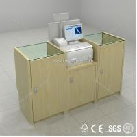 Wholesale supermarket checkout counter equipment,shop cashier counter for sale from china suppliers