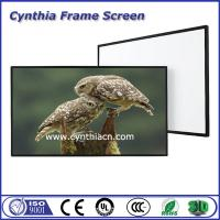 Wholesale Cynthia Screen Fixed Frame Projection Screen 3D&4K HD PVC Screens Frame from china suppliers