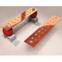 M , Y2 , Y , T Perforated Portable Ground Copper Flat Bar For Loading Machine , Electric Equipment