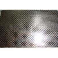 Wholesale SS 316L Grade Etching Stainless Steel Sheet Metal With Surface Linen Pattern from china suppliers
