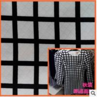 Wholesale Spring jacquard printed fabrics windbreaker simple fashion geometric patterns from china suppliers
