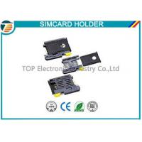 Wholesale High Temperature SMT Sim Card Connectors For Micro Sim Cellular Phones from china suppliers