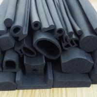 China EPDM rubber extruded 3M adhesive backed foam seal strips for wooden door insolation on sale
