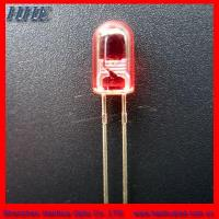 Quality 5mm Red Round Without Flange LED Diode (diffused) for sale