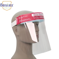 Wholesale Thick 0.2mm Disposable Face Shield from china suppliers